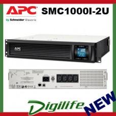 APC Smart-UPS C 1000VA 2U Rack mountable LCD 230V 600W SMC1000i-2U
