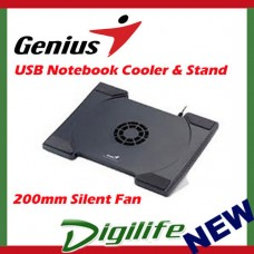 Genius Advanced notebook stand with cooling fan NB Stand 200 for 11