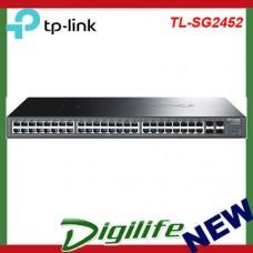TP-LINK TL-SG2452 Managed L2 Gigabit Ethernet (10/100/100 T1600G-52TS(TL-SG2452)