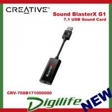 Creative Sound BlasterX G1 7.1 USB 2.0/3.0 Sound Card 70SB171000000