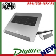 Cooler Master Notepal U150R Aluminum Notebook Cooler R9-U150R-16FK-R1