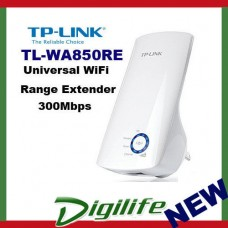 TP-Link TL-WA850RE 300Mbps Universal WiFi Range Extender Ethernet Bridge
