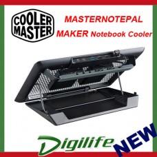 Cooler Master MasterNotepal Maker Laptop Cooler & USB Hub MNZ-SMTE-20FY-R1