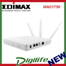 EdimaxPro Wireless AC1750 Dual-Band Wall-Mount PoE Access Point