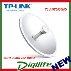TP-Link TL-ANT5830MD 5GHz 30dBi 2×2 MIMO Dish Antenna - TL-ANT5830MD