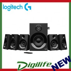 Logitech Z607 5.1 Surround Sound Speaker System with Bluetooth 980-001318