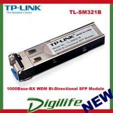 TP-Link 1000Base-BX WDM Bi-Directional SFP Module - TL-SM321B