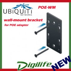 Ubiquiti Wall Mount Bracket for POE adapter Injector POE-WM