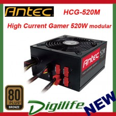 Antec HCG 520M 520W Gaming Power Supply 80+ Bronze Semi Modular PSU