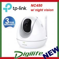 TP-Link NC450 HD Pan/Tilt Wi-Fi Camera with Night Vision CCTV