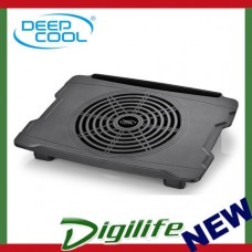 Deepcool N30 Laptop Notebook Cooler Black, 200mm Fan, Cables Groove, Anti-slip