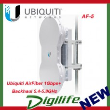 Ubiquiti AirFiber 5GHz Full-Duplex Point-to-Point Gigabit Radio AF-5