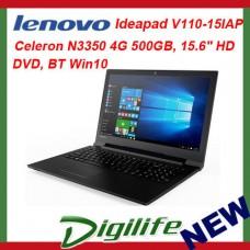 """Lenovo IdeaPad V110 15.6"""" HD LED Intel N3350 4GB 500GB DVD/RW WiFi-AC BT Win10"""