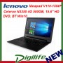 "Lenovo IdeaPad V110 15.6"" HD LED Intel N3350 4GB 500GB DVD/RW WiFi-AC BT Win10"