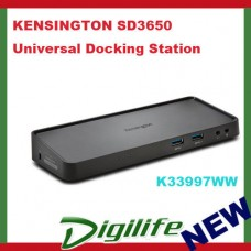 KENSINGTON SD3650 Universal USB 3.0 Docking Station Professional Performance