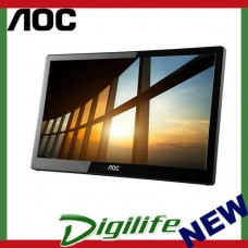 "AOC 15.6"" IPS 5ms Full HD 1920X1080 USB 3.0 Powered Business Monitor"