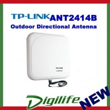 TP-LINK TL-ANT2414B 2.4GHz 14dBi Outdoor Directional Panel Antenna