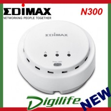 Edimax N300 High Power Ceiling Mount Wireless PoE Range Extender / Access Point
