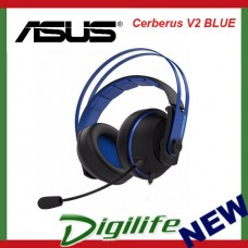ASUS Cerberus V2 Gaming Headset with 53mm Asus Essence Drivers - Blue Color