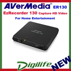 AVerMedia EzRecorder ER130 Capture HD Video for Home Entertainment