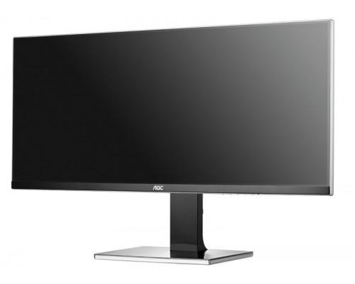 "AOC U3477PQU 34"" UltraWide Quad HD IPS monitor 3440x1440 21:9 5ms"
