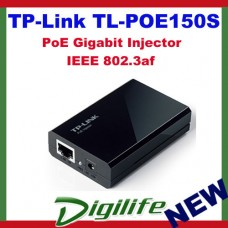 TP-Link TL-POE150S POE Injector Power Adapter 802.3af up to 100m