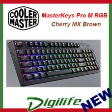Cooler Master MasterKeys Pro M RGB Keyboard - Cherry MX Blown
