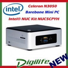 Intel NUC Barebone Kit NUC5CPYH Celeron N3050 Mini PC HDMI WIFI USB3.0 Desktop