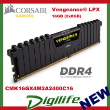 Corsair Vengeance LPX 16GB (2x8GB) DDR4 2400MHz Memory - CMK16GX4M2A2400C16