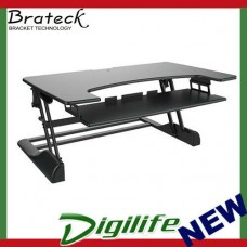 Brateck DWS04-03 Height Adjustable Standing Desk - Black