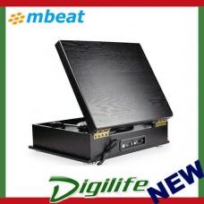mbeat MB-USBTR98 Vintage USB Turntable with Bluetooth Speaker and AM/FM Radio