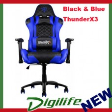 AEROCOOL ThunderX3 TGC12 Series Gaming Chair - Black/Blue