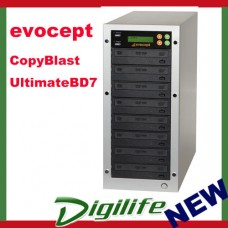 Evocept CopyBlast Ultimate BLU-RAY BD/DVD/CD 7 Drive Copy - ECU1507BP