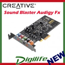 Creative Sound Blaster Audigy Fx PCI-E 5.1 Sound Card