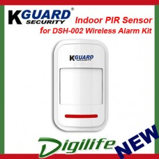 KGuard Indoor PIR Sensor for DSH-002 Wireless Alarm Kit