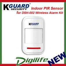 KGuard Indoor PIR Sensor for DSH-002 Wireless Alarm Kit