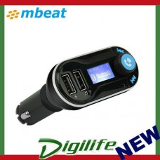 mbeat Bluetooth Hands-free Car Kit 2.1A Charging Port  MB-BT-300