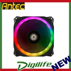 Antec Prizm 140 ARGB Dual-Ring Hydraulic Bearing RGB LED PWM Fan Single Pack